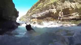 Download Warriewood blowhole cave swim & Snorkel' GoproHD Hero 3 black Video