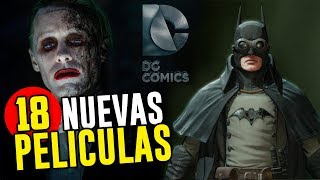 Download Las 18 Nuevas Películas que DC estrenará 2019 - 2021 Video