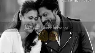 Download Jane Wafa Hoke Bekarar.. Kuch kuch hota hai | Song lyrics|| WhatsApp Status Video