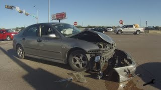 Download $500 SAAB TOTALED: Here's What happened. Video