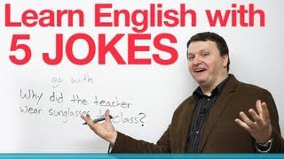 Download Learn English with 5 Jokes Video