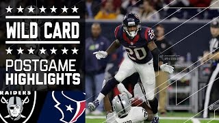 Download Raiders vs. Texans | NFL Wild Card Game Highlights Video