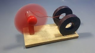 Download free energy generator device with magnet & dc motor science experiment at home Video