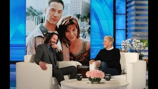 Download Keanu Reeves Had a Crush on 'Speed' Co-Star Sandra Bullock Video