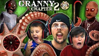 Download GRANDPA HOUSE? GRANNY Chapter Two: Sewer Creature! (FGTEEV INTENSE Gameplay) Video