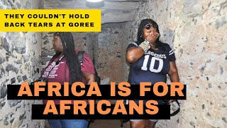 Download BLACK AMERICAN SISTERS EMOTIONAL TRIP TO AFRICA #AfricaIsForAfricans Video