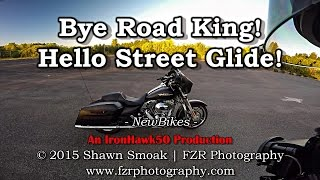 Download Bye Road King! - Hello Street Glide Special! | RK & SG-S | NewBikes Video