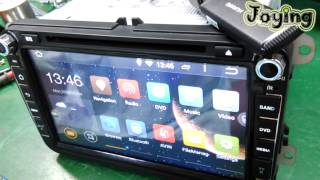 Download Show HUAWEI 3G dongle to work on Joying Quad Core android 4.4.4 Kitkat car stereo Video