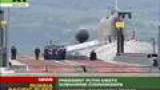 Download Putin visits atomic submarine base Video