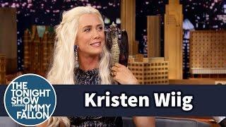 Download Jimmy Interviews Khaleesi from Game of Thrones (Kristen Wiig) Video