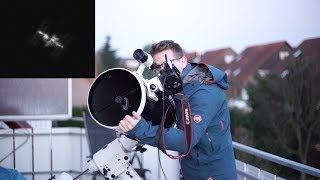 Download Capturing the ISS (International Space Station) through my Telescope Video