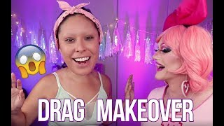 Download GETTING A DRAG MAKEOVER Ft. Ms Kitty Powers Video