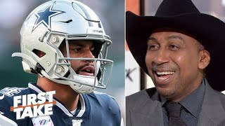 Download Stephen A. is overjoyed with the Cowboys' 3-game losing streak on his birthday | First Take Video