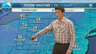 Download Thursday Afternoon Forecast (11/30/17) Video