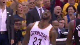 Download LeBron James Slams Down the Tomahawk Dunk Video