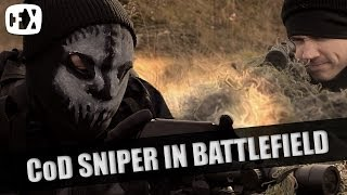 Download CALL OF DUTY SNIPER IN BATTLEFIELD?! Video