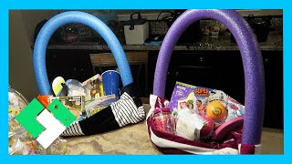 Download EASTER SUNDAY FUN! SUMMER THEMED EASTER BASKETS (Day 1842) Video