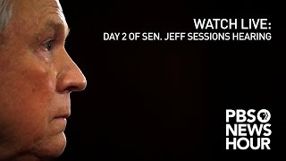 Download WATCH LIVE: Day 2 of Sen. Jeff Sessions confirmation hearing Video