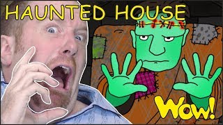 Download Haunted House for Kids | Halloween Songs for Children from Steve and Maggie | Wow English TV Video