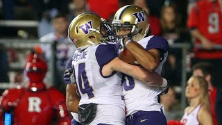 Download Football: No. 8 Washington defeats Rutgers on the road Video