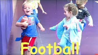 Download 🏈HILARIOUS LITTLE KIDS FOOTBALL!😂 Video