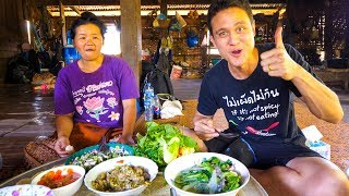 Download Laotian Food - STUNNING LAO FISH SALAD | Village Cooking in Laos! Video