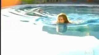 Download Giada di Laurentiis goes for a dip in the pool Video