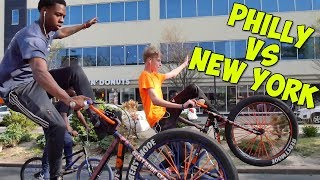 Download PHILLY VS NEW YORK BIKELIFE (WE RIDE AS ONE) Video