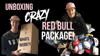 Download Unboxing Crazy Red Bull Package Video