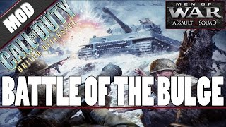 Download Men of War: Assault Squad 2 - Call of Duty: United Offensive (MOD) - Battle of the Bulge Video