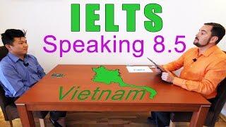 Download IELTS Speaking Score 8.5 Vietnam with Subtitles Video