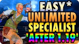 Download BO4 Zombie Glitches: Easy* Solo Unlimited Specialist Weapons Glitch Method ″After 1.19 Update″ Video