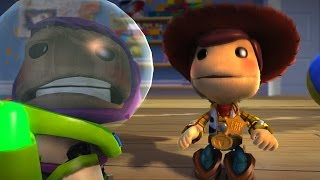 Download BUZZ LOOK AN ALIEN - Toy Story - LittleBigPlanet 3 Animation Video