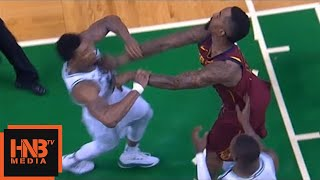 Download Marcus Smart & JR Smith skirmish, double technical, JR flagrant foul / Celtics vs Cavaliers Game 2 Video