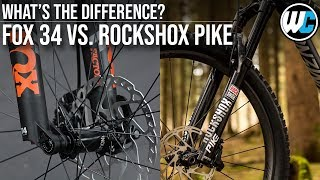 Download Fox 34 vs. Rockshox Pike - Fork Comparison Video