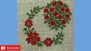 Download New Cross Stitch pattern / Dosuti table cloth design / Table cloth design collection Video