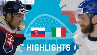 Download Slovakia - Italy | Highlights | #IIHFWorlds 2017 Video