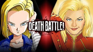 Download Android 18 VS Captain Marvel (Dragon Ball VS Marvel Comics) | DEATH BATTLE! Video