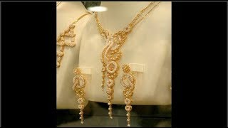 Download Gold Four |Pendant | Chain| Earrings | Rings | Sets Jewellery Designs Video