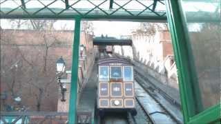 Download Budavári Sikló Budapest Castle Hill Funicular Video