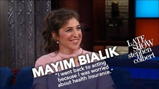 Download Mayim Bialik Settles The Difference Between 'Nerd' and 'Geek' Video