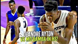 Download DeAndre Ayton vs Mo Bamba & His 7'10″ Wingspan In High School!! #1 vs #2 Potential Draft Picks! Video