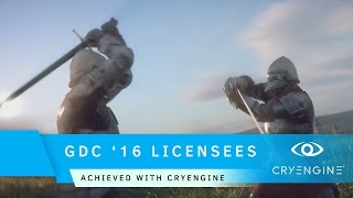 Download GDC 2016 Licensee Showcase | CRYENGINE Technology Video