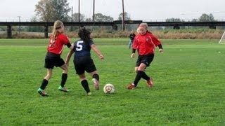 Download Ina - 8 year old girl soccer player goal scoring highlights fall 2012 (U10 Premier) Video