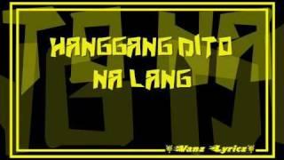 Download Hanggang Dito Na Lang (Lyrics) - Frio Video