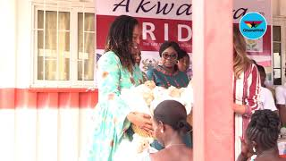 Download Melania Trump donates items to Greater Accra Regional Hospital Video