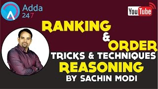 Download Ranking and Order Question Tricks By Sachin Modi Video