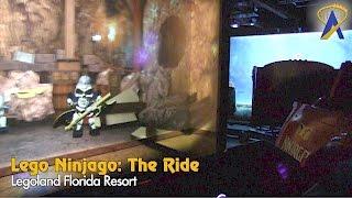 Download Lego Ninjago The Ride - Full Queue and Ride POV at Legoland Florida Video