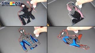 Download Spiderman New Universe Pancake art - Miles Morales, Gwen Stacy, Peter Benjamin Parker, Spider-Ham Video
