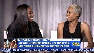 Download Sloane Stephens & Mom - Chats Her Amazing U.S. Open Run - GMA Video
